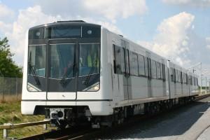 Metrozug für Oslo, produziert in Wien