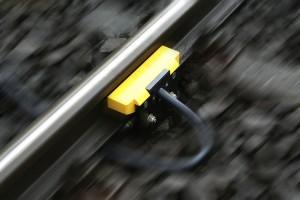 Radsensor zur sicheren Belegt- oder Freimeldung von Gleisabschnitten
