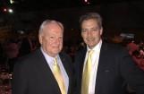 Dipl.-Ing. Thomas Karl, Präsident des Verbandes der Bahnindustrie (rechts) und Bob Herbert, Chairman of the Australasian Railway Association (links)
