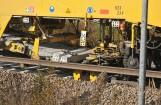 Neu-Schwellen werden paarweise zugeführt und beim Einbau von der Maschine auf den korrekten Abstand exakt ausgerichtet. Foto: Plasser & Theurer Export von Bahnbaumaschinen Ges.m.b.H.
