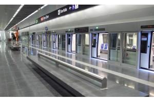Siemens rüstete die U-Bahnlinie 9 in Barcelona bereits 2009 für den fahrerlosen Betrieb aus. Nun ist die rund 20 Kilometer lange Erweiterung in Betrieb gegangen. Copyright: Siemens AG