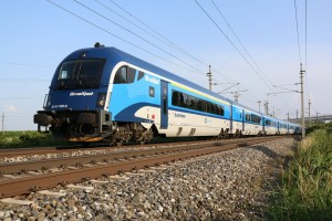 Railjet der CD (Graz - Wien - Brünn - Prag)