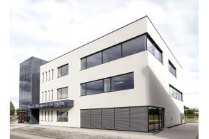 Das neu eröffnete Frauscher Innovation Centre bietet 75 Arbeitsplätze für bestehende und neue Mitarbeiter.Foto: Frauscher Sensortechnik GmbH