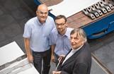 v.l.: Radovan Seifried (42), Christian Karner (43) und Prof. Christian Moser (61) - Erfinder des Jahres 2016.Bild: Siemens