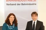 DI Dr. Angela Berger (Geschäftsführerin) und DI Manfred Reisner (Präsident)