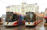Halb Straßenbahn, halb Lokalbahn: Traunsee-Tram Bild: R. Chodász