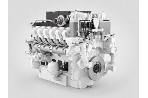 Der Dieselmotor D9812 für Schienenfahrzeuge von Liebherr. – © Liebherr