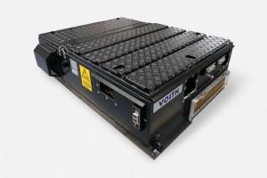 Für eine energieeffiziente Antriebstechnik sorgen unter anderem die bewährten und effizienten Doppeltraktionsstromrichter EmCon DI1000-5AR.Bild: Voith GmbH & Co. KGaA