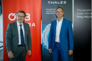 Elektra 4.0: CEO Boyer Thales, VD Pluy ÖBB-Infrastruktur (c) Christian_Husar