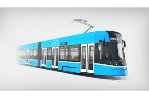 Für die Straßenbahn in Ostrava liefert Knorr-Bremse das hydraulische Bremssystem sowie die im CoC Mödling entwickelten und gefertigten Wischersysteme.© Škoda Transportation a.s.