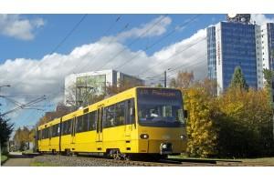 Voith modernisiert die Traktionsstromrichter von 50 Stadtbahnfahrzeugen der Stuttgarter Straßenbahnen AG (SSB). Bild: Knupfer / SSB