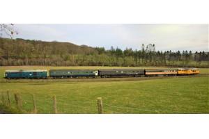 Testfahrten mit LiCAS auf einem Drehgestell wurden auf der 18 Meilen langen Weardale Railway in Großbritannien durchgeführt. – © Liebherr