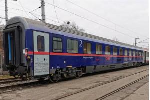 Der erste neue Comfort-Liegewagen für den ÖBB Nightjet.Bildquelle: Molinari Rail Group