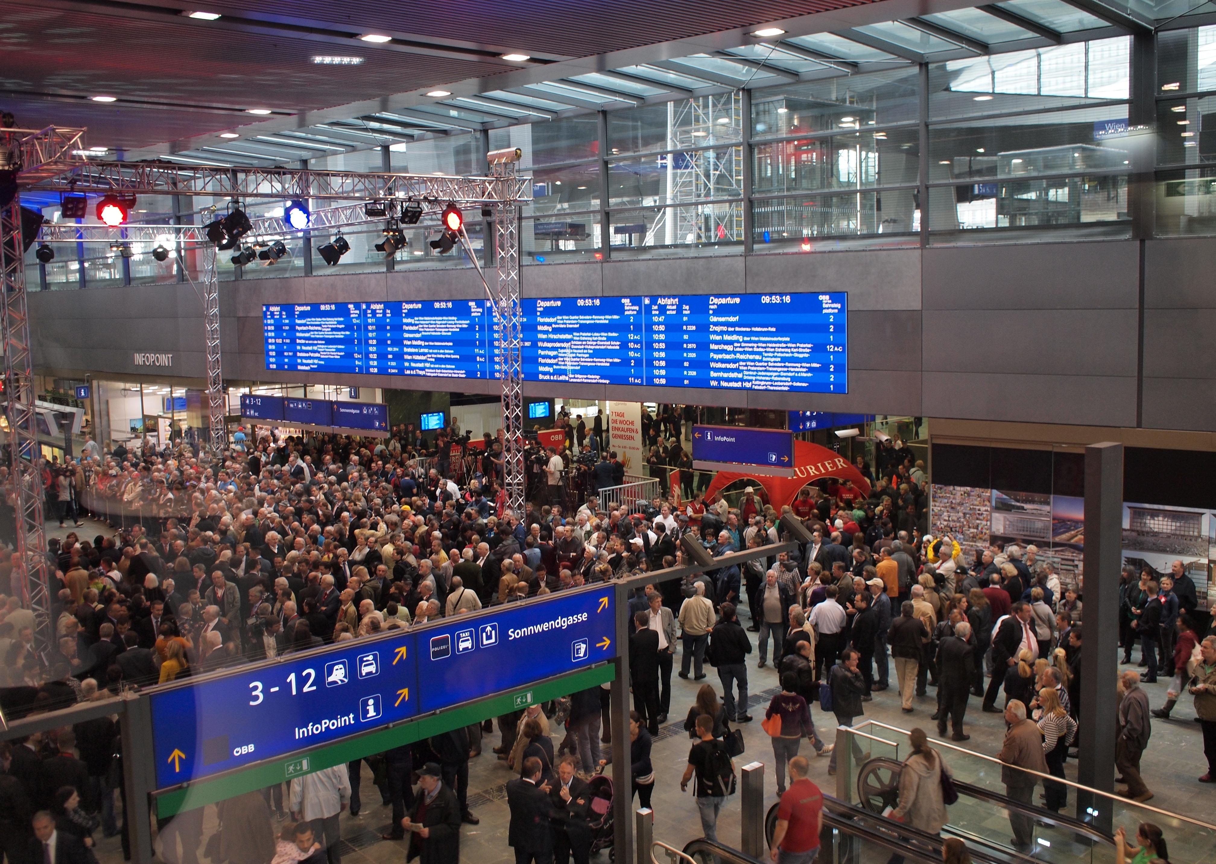 Verband Der Bahnindustrie Jahrhundertprojekt Wien